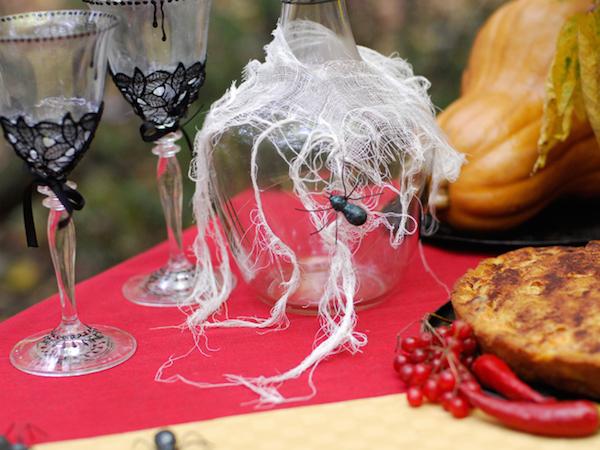 сервировки стола на хеллоуин