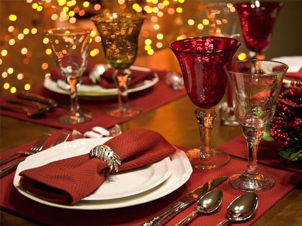 сервировки стола для романтического ужина