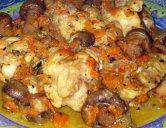 """Салат с курицей и клюквой """"Роскошный"""" – кулинарный рецепт"""
