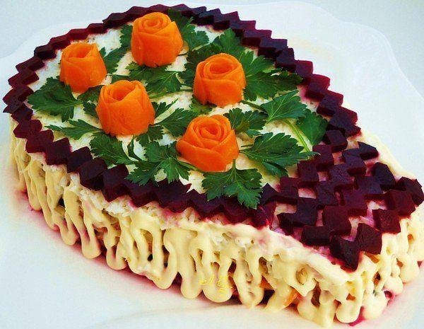 салат с королевский рецепт с фото