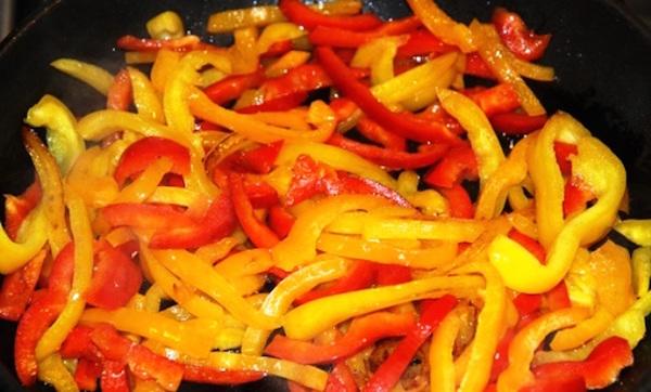 Обжаренный перец