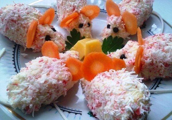 празднечные салаты и их рецепты