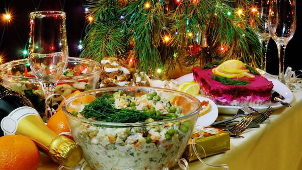 Салаты на новый год которых мы еще не ели