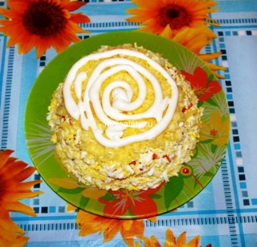 Тертый сыр и яйца