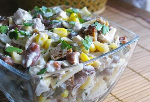 салаты с консервированной сайрой рецепты с фото