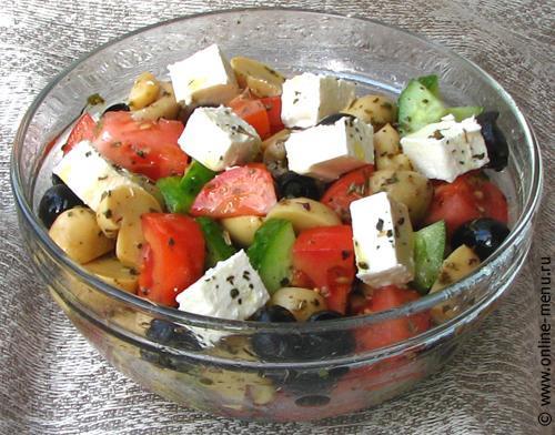 Салат здоровье с тофу