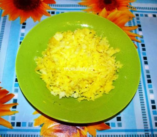 Картофель на терке