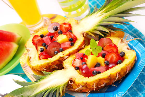 фруктовый салаты