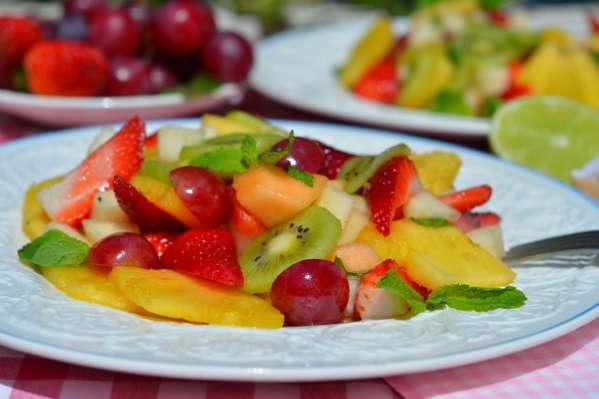 Фруктовые салаты рецепты