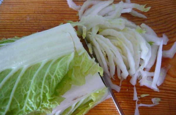 Пекинская капуста крабовые палочки салат