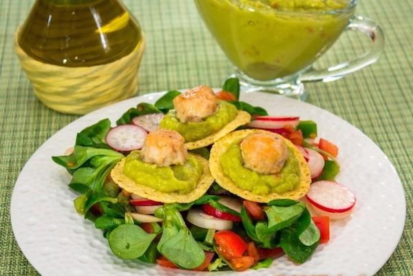 Салат из куриного филе