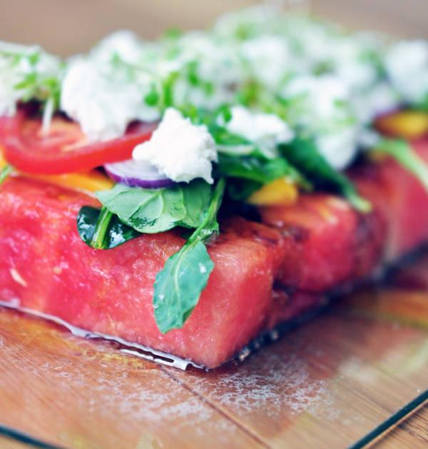 Самый вкусный салат из арбуза