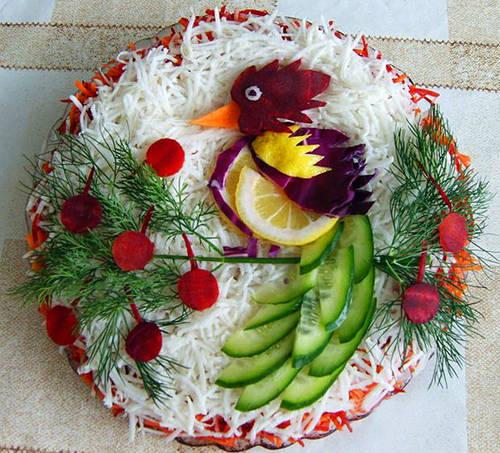 салаты из курицы рецепты с фото цезарь