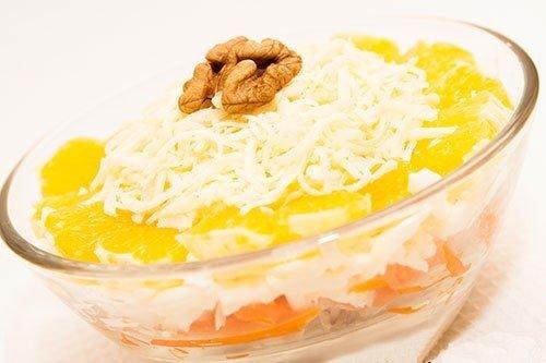 Салаты с корейской морковью рецепты