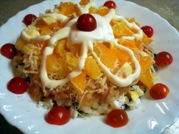 салат французская любовница пошаговый рецепт