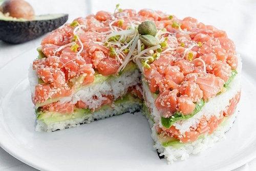 салат под суши