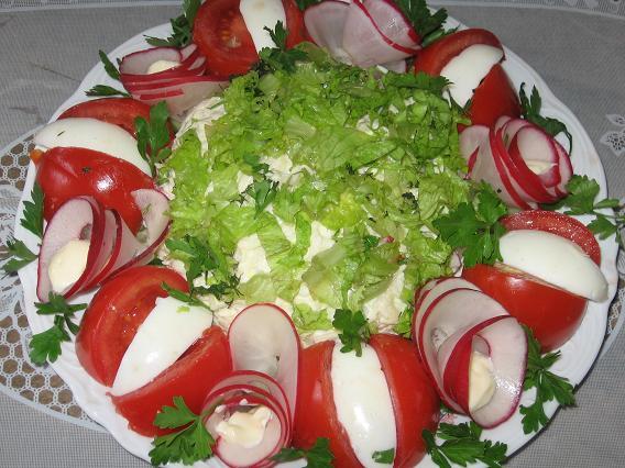 Витаминный салат из земляной груши