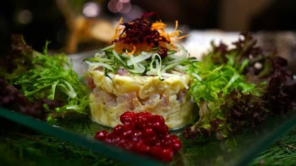 Кальмаровый салат