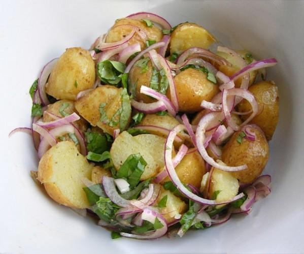Картофельный салат по немецки