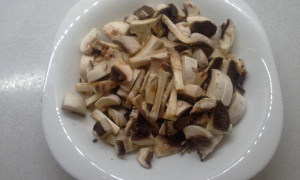 Разделываем грибы