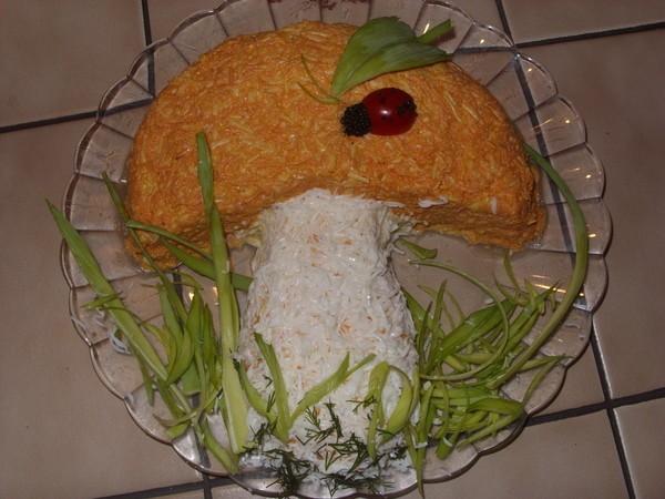 Салат домашний