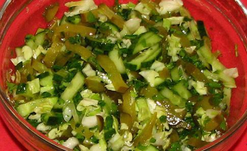 Салаты с уксусом и капустой