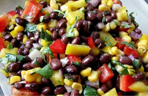 салат из тунца консервированного рецепт с красной фасолью
