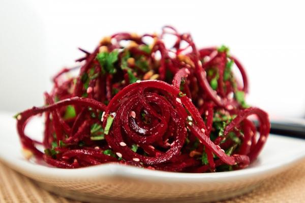 салат из свеклы на зиму рецепты острый