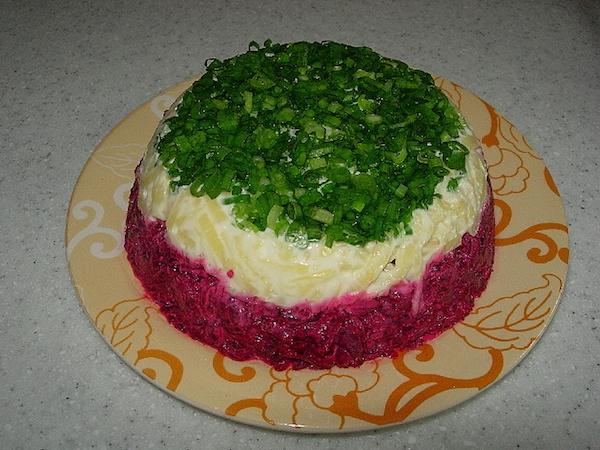 рецепты салатов со свёклой с фото