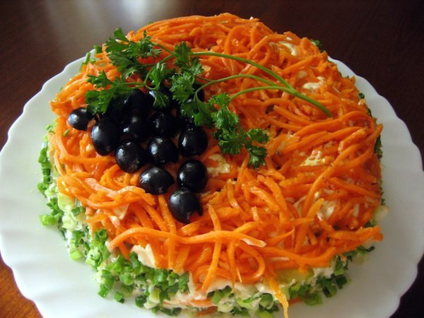Маринованные шампиньоны с корейскими нотками – кулинарный рецепт