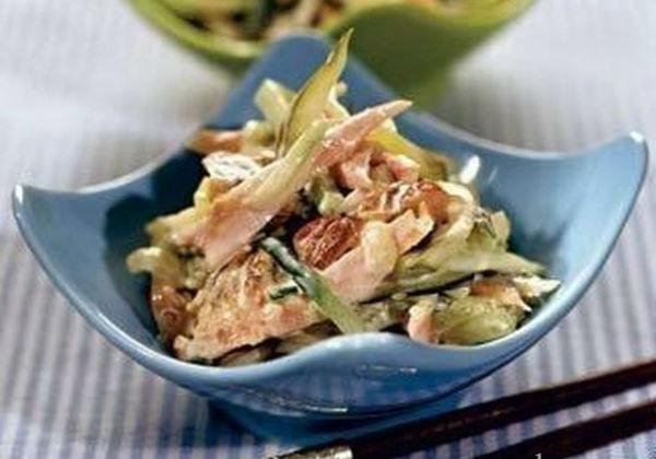 Рецепт салата из куриной грудки с