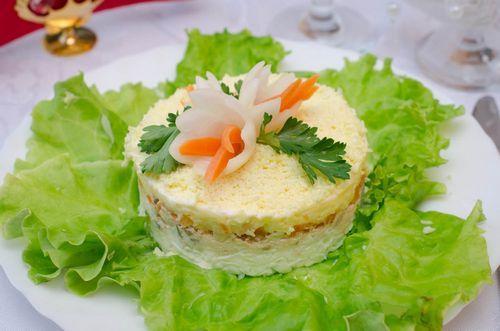 Маленькая порция салата