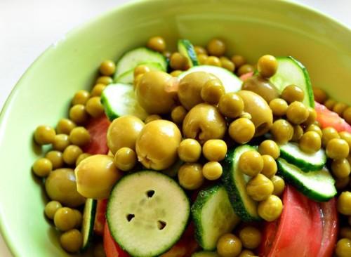 салат овощной рецепт