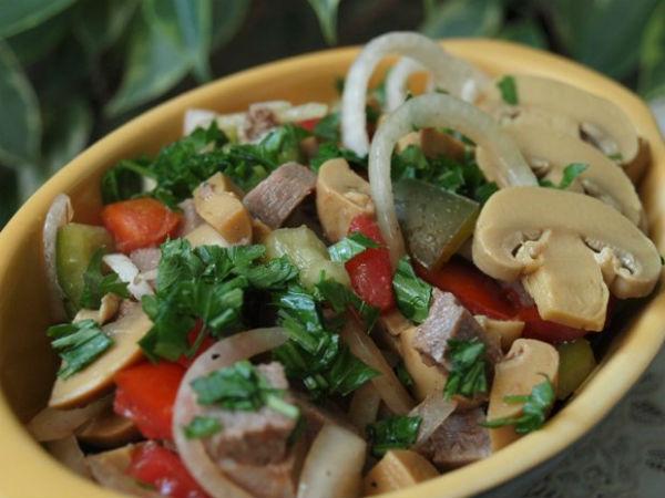 пражский салат рецепт с фото