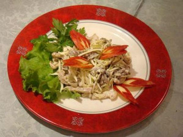 салат пражский