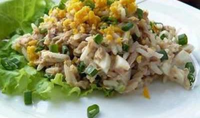 салат с фасолью с тунцом консервированным рецепты