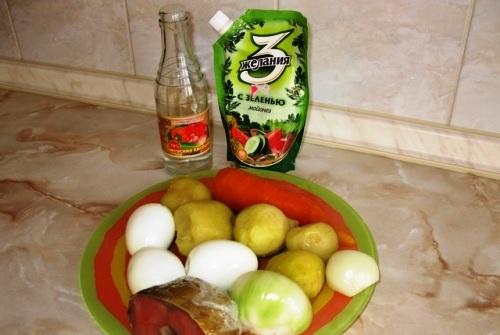 Этап 1: Подготовка продуктов