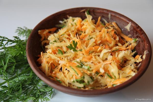 Салат с репой