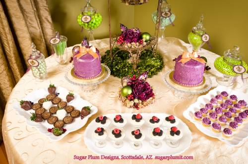 сервировка сладкого стола