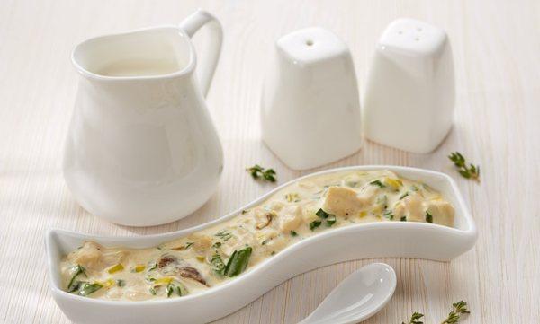 сливочный соус для грибов рецепт