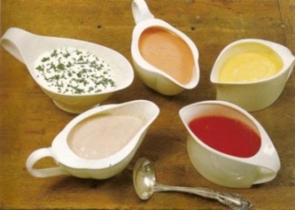 рецепты соусов к салатам