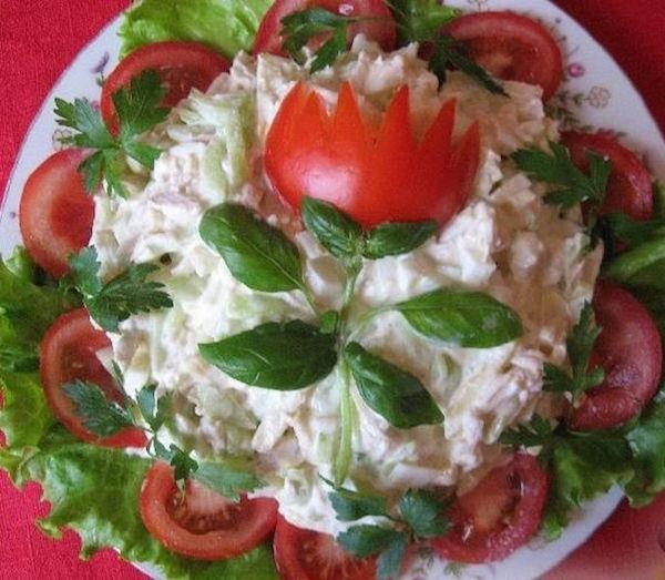 Вкусные салаты на праздники - 98e0
