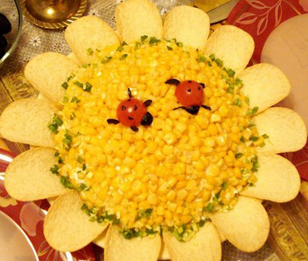 Вкусные салаты на праздники - 857