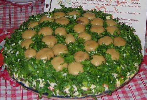 салат лесной хозяин